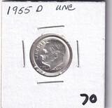 1955-D DIME
