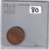 1909 VDB WHEAT CENT
