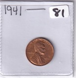 1941 WHEAT CENT