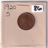 1920-S WHEAT CENT