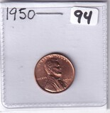 1950 WHEAT CENT