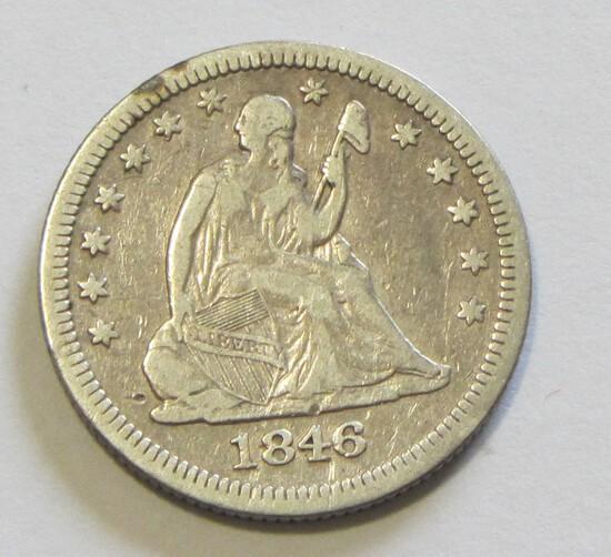 1846 SEATED QUARTER
