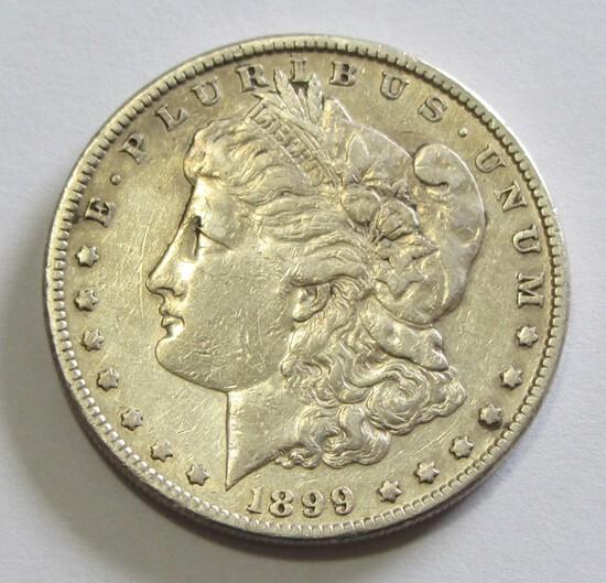 BETTER DATE $1 1899 MORGAN