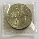 1977 Queen Elizabeth II Silver Jubilee Commemorative Coin 25 New Pence