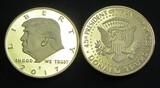 GOLDEN TRUMP PROOF COIN