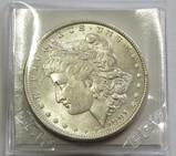 BU $1 1891 MORGAN