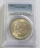 $1 1883-O MORGAN PCGS 63