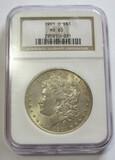 $1 1901-O MORGAN NGC 63
