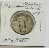 1927-S Standing Liberty Quarter - Key Date