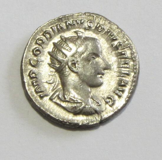 SILVER ROMAN EMPIRE GORDIAN III 238 AD