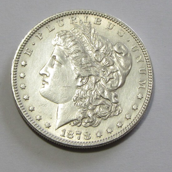 $1 1878 7 TF MORGAN