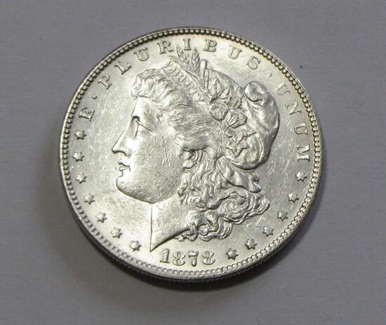 HIGH GRADE $1 1878 REVERSE OF 79 MORGAN