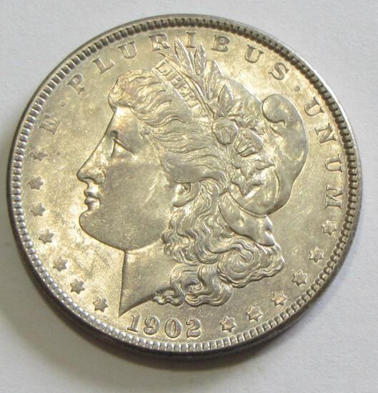 $1 1902 MORGAN SILVER DOLLAR