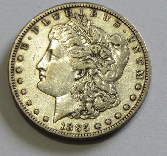 $1 1885-S MORGAN