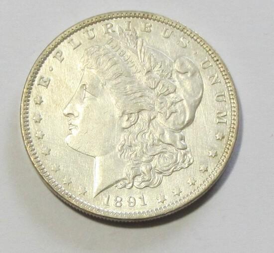 1891 $1 MORGAN