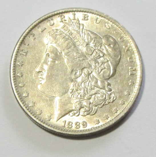 $1 1889-O MORGAN LUSTER
