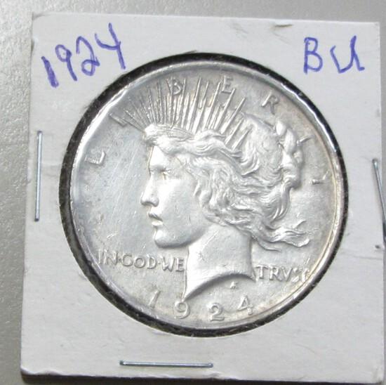 $1 1924 PEACE