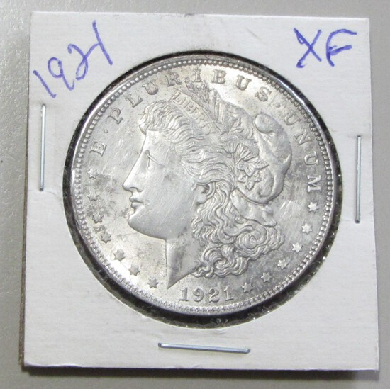 $1 1921 MORGAN