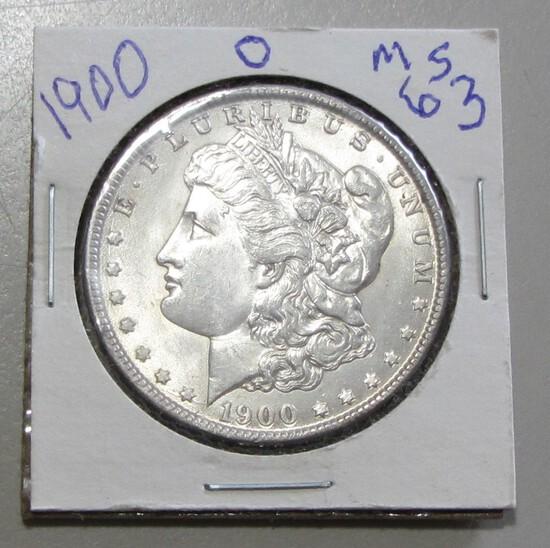 $1 1900-O MORGAN LUSTER
