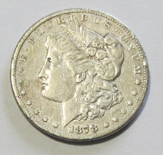 $1 1878-CC CARSON CITY MORGAN
