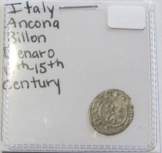 SILVER ITALY BILLON 13TH CENTURY