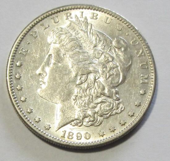 $1 1890-S MORGAN NICER DATE