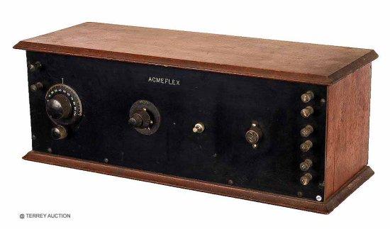 Acme Acmeflex 4-tube set. Uses Acme components. No tubes.
