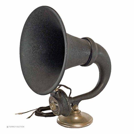Amplion AR-111 - Metal bell, horn speaker, driver OK.