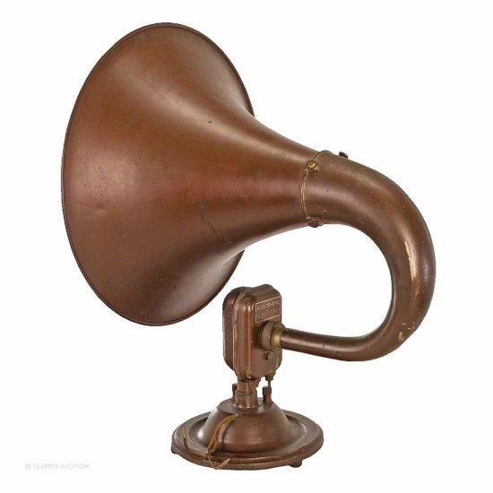Bristol Co.  Audiophone Horn Speaker
