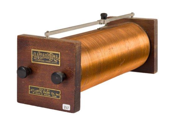 Clapp-Eastham - Atlantic Radio.  Slide Tuner
