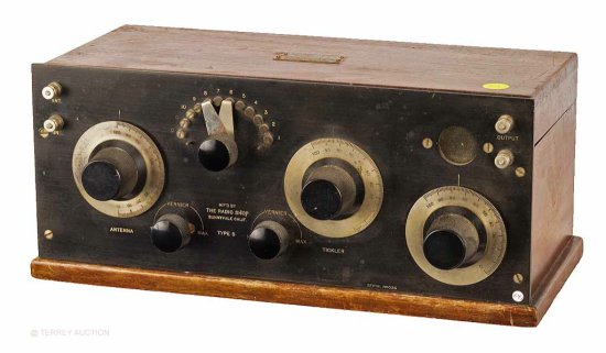 Concert Radio Co., Sunnyvale, CA - Radio Shop. Type S Receiver