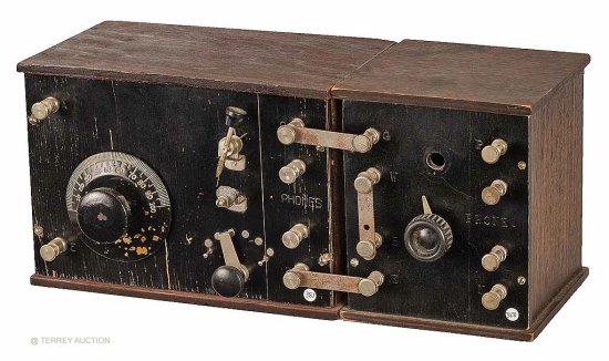 Crosley Crystal Set & Detector Unit