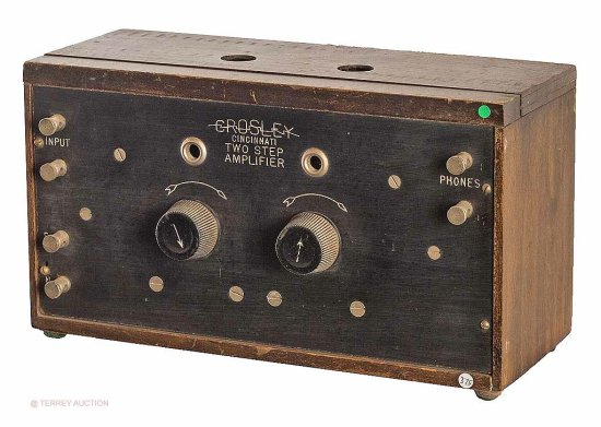 Crosley  Two Step Amplifier, early