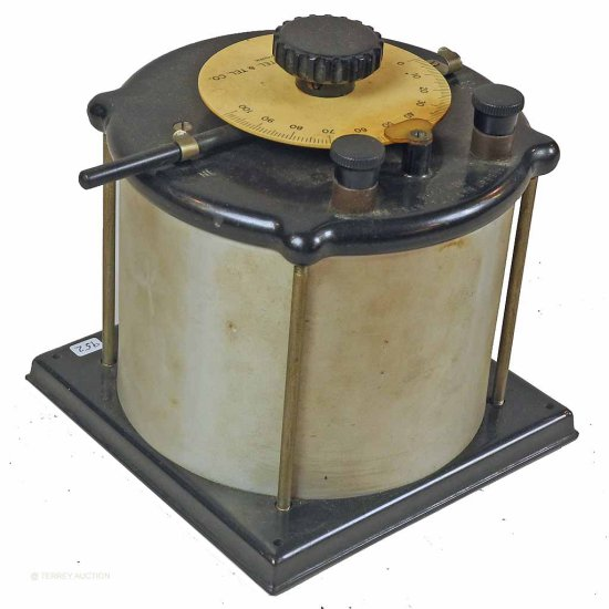 DeForest.  Large Variable Capacitor