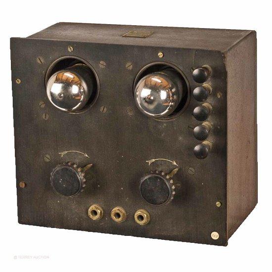 DeForest/Radio Craft/Radiophone. D-5 Two-Stage Amplifier
