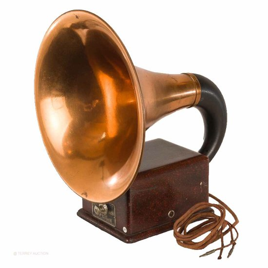 Dictograph Products Corp. Radio Loud Speaker - Horn Type