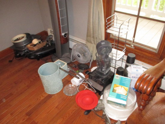 Vitamix Blender, Fans and Miscellaneous Household Items