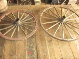 4 Wagon Wheels 48