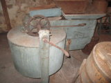 Wooden Farm Grain Mill