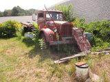 Brockway Flatbed Truck (For Restoration) No Title