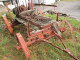 Farm Spray Wagon Frame