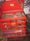 Waterloo Rolling Toolbox with Wrenches, Socket Sets. etc.