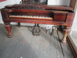 Antique Grovesteen & Co. New York Spinet Piano