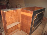 Wooden Cabinet - Pine & Plywood - Can be Repurposed for Bar or  Other Use