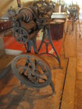 Cast Iron Chain Driven Treadle Lathe