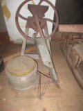 Ames plow (Boston and New York), Seed Sower, Grinder and Chopping Block