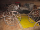 Horse Carriage Leather Seats and Good Springs
