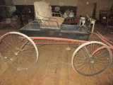 Horse Carriage with Spoked Metal Wheels