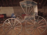 Horse Carriage with Canopy Top