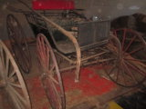 Horse Carriage with Rear Metal Fenders